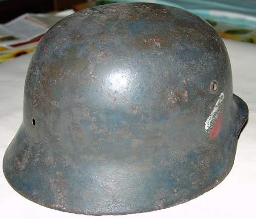 Luftwaffe German WWII Helmet Authentication