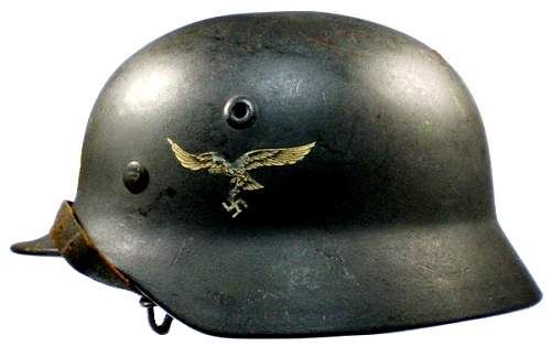 What are your thoughts on this luftwaffe helmet....