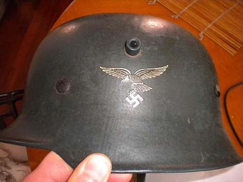 LW parade helmet