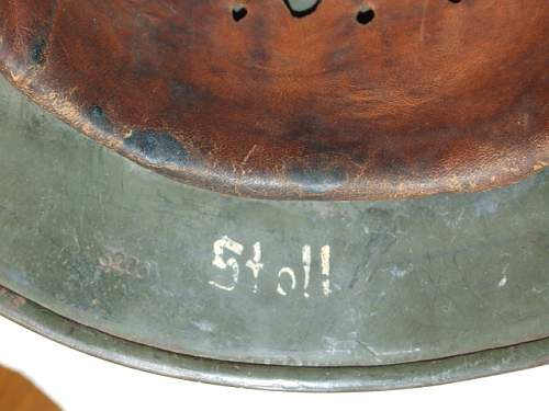 Click image for larger version.  Name:M35 German Army Helmet (19).JPG Views:18 Size:122.4 KB ID:856707