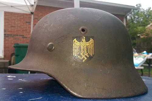 PLEASE HELP - Kriegsmarine Helmet I Was Offered