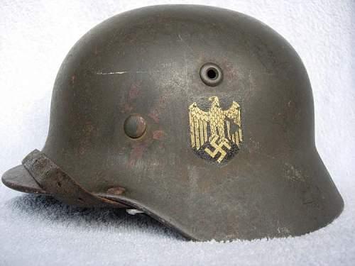 OPINIONS - Kriegsmarine M35 German Helmet?
