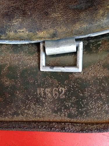 DD M35 Heer helmet (  camo ) opinion needed
