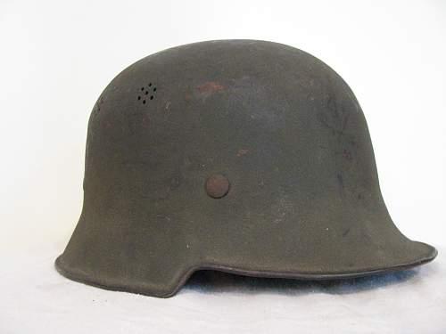 Single Decal Heer - M34 Shell - Textured Feldgrau Combat Paint