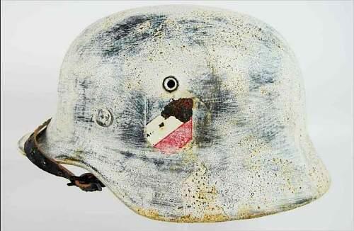 Hj winter camo M40 helmet?????