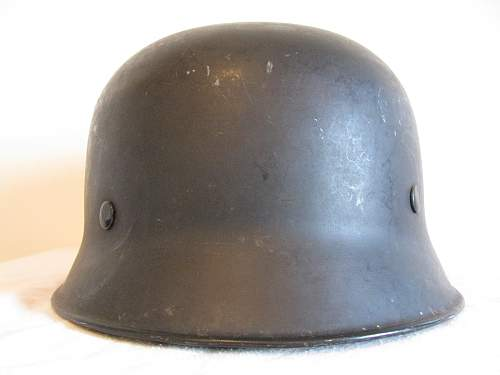Another M34 Herr - Double Decal - Curve Dip Droop Visor Shell
