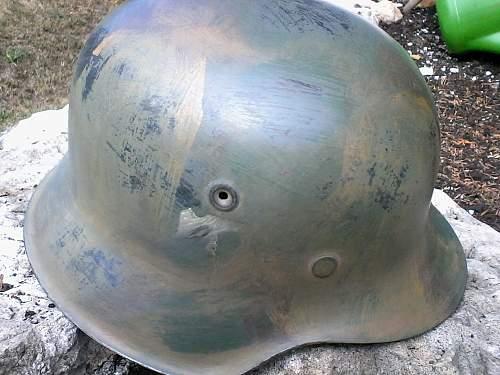 Authentic German helmet?