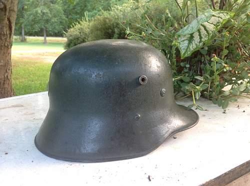 M16/17 Austrian transitional Heers helmet