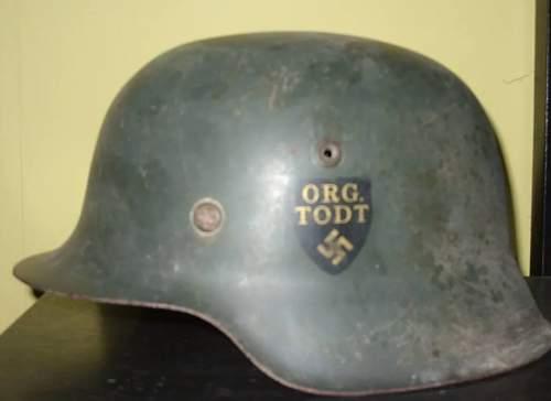 Rare German Helmet