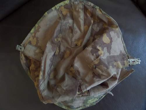 SS Helmet cover for review