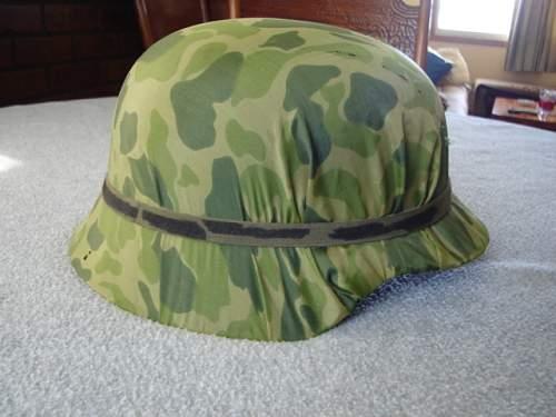 late war helmet shell