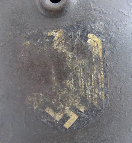 Single Decal Heer Helmet