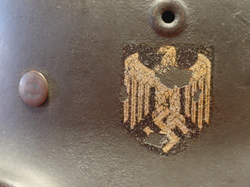 M40 Heer Helmet for review