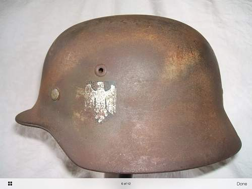 Could I have thoughts on this helmet please.