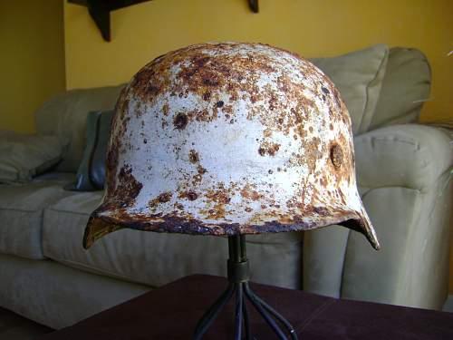 grave marker helmets
