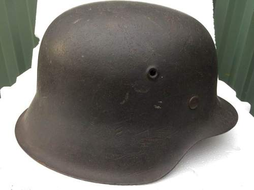 Luftwaffe M42 single decal helmet for opinions