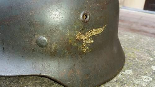 Luftwaffe M 40 combat?