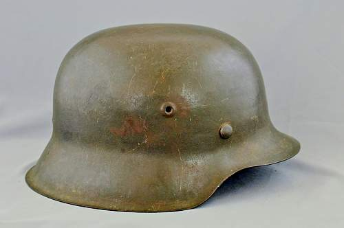 M42 Helmet maker identification