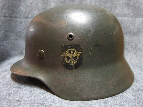 M35 Double Decal Combat Police Helmet for opinions