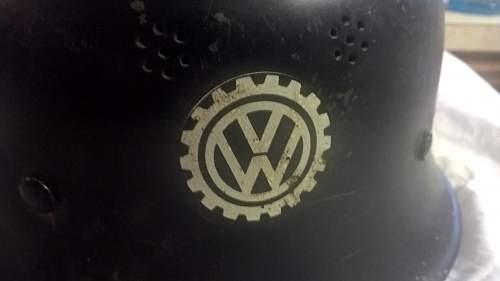 volkwagen factory helmet?