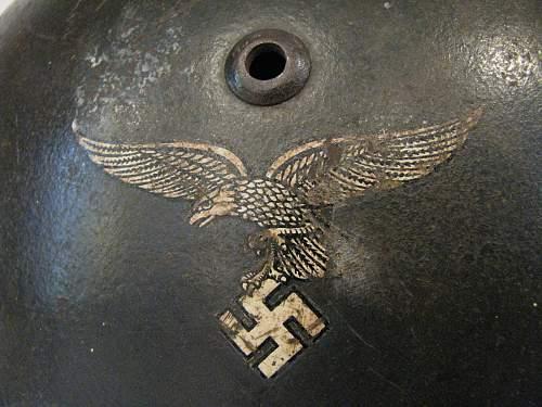 Double Decal Luftwaffe - Straight Leg Adler - ET 68 - Lot # 4089