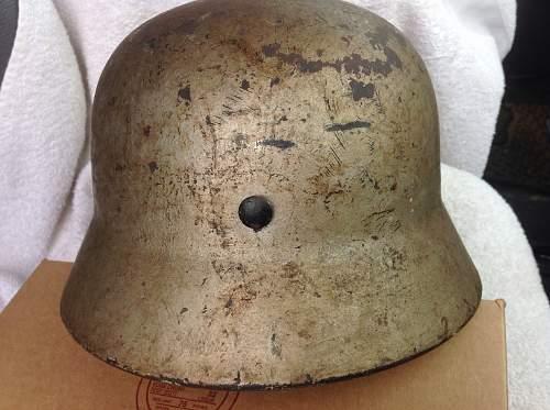 Volkssturm helmet for review
