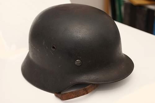 New Luft helmet