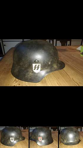SS helmet. Fake or real..