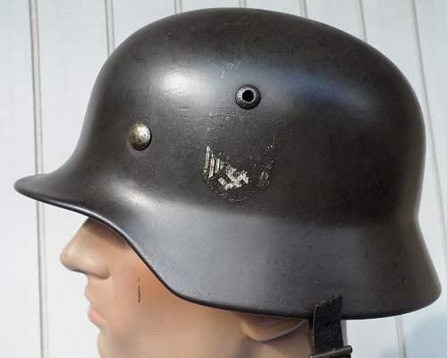 Single Decal M35 Helmet