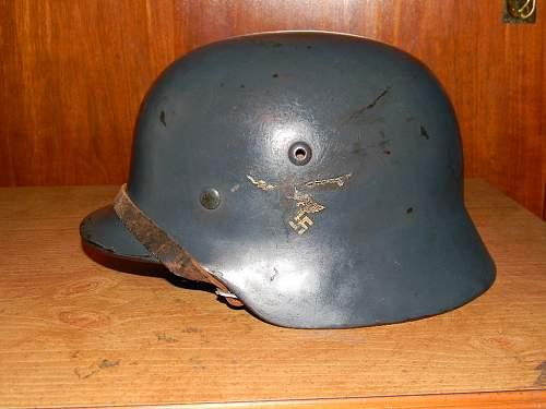 Latest find: Luftwaffe M35 DD