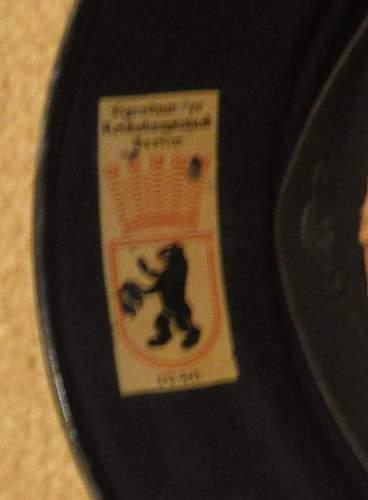 Click image for larger version.  Name:Luftschutz helmet 001.jpg Views:15 Size:94.6 KB ID:911395