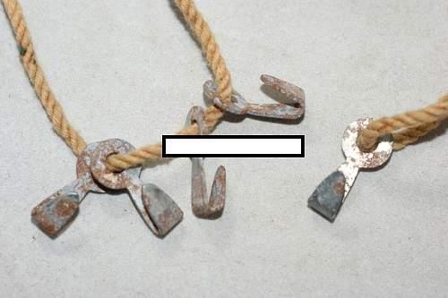 Stahlhelm Tarnnetz