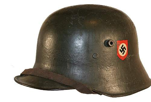 Transitional M18 helmet help - Unit marking?