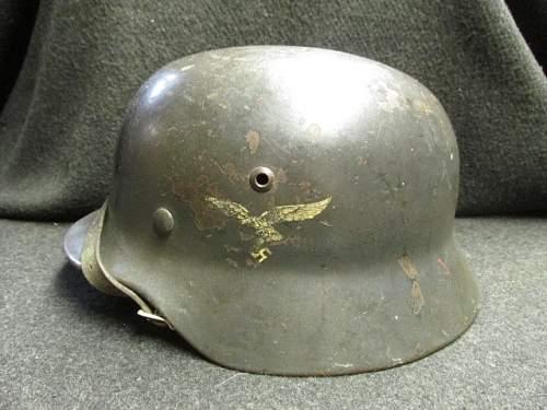 DD M35 Luftwaffe Helmet - Opinions Please!