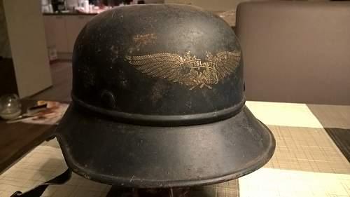 Opinions on Luftschutz helmet