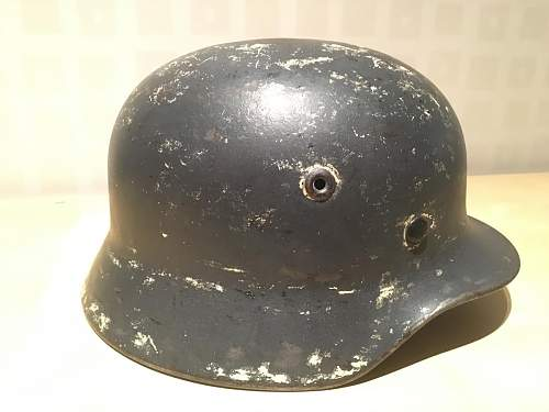 Opinions on this Luftwaffe Camo Helmet