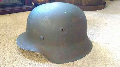 Just picked up the m42 helmet in trade, thoughts?