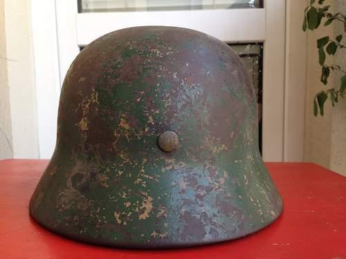 M35 possible camo helmet - opinion needed