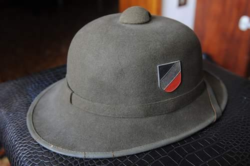 Afrikakorps (DAK) Sun Helmet