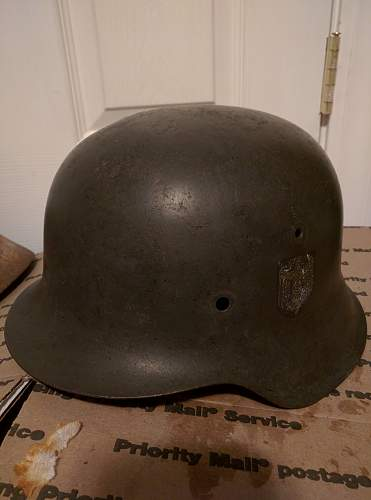 Recently acquired helmets... Authenticity?