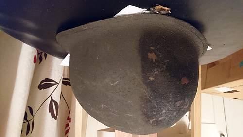 First Post - Inherited German Helmets, Help