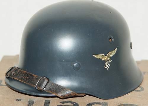 LW parade helmet please accept comments