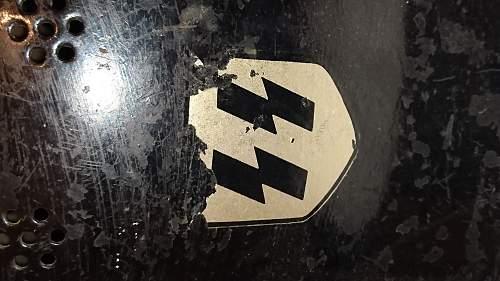 Inherited Helmets - Box 4 Helmet 2