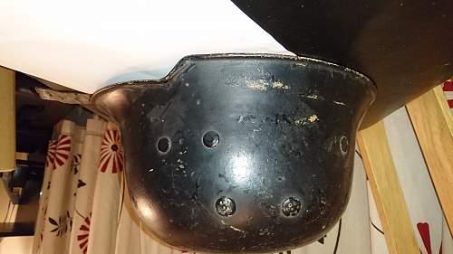 Inherited Helmets - Box 4 Helmet 4