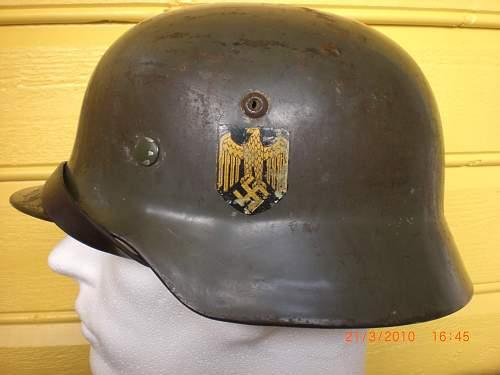 My helmets