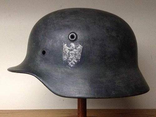 Need opinions on this m40 heer helmet shell