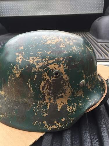 M35 helmet decal