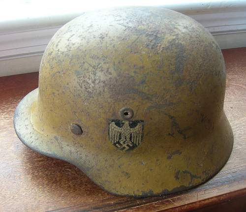 Missing Camo Helmet