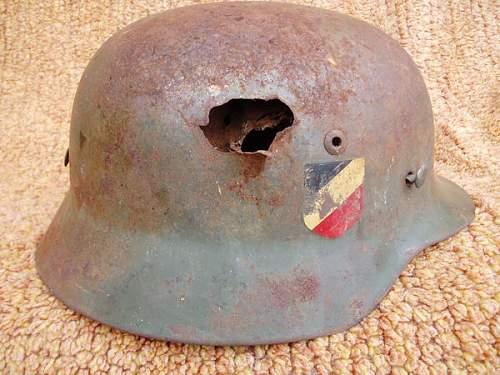 Heer M35 battledamaged