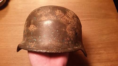 Genuine german helmet?